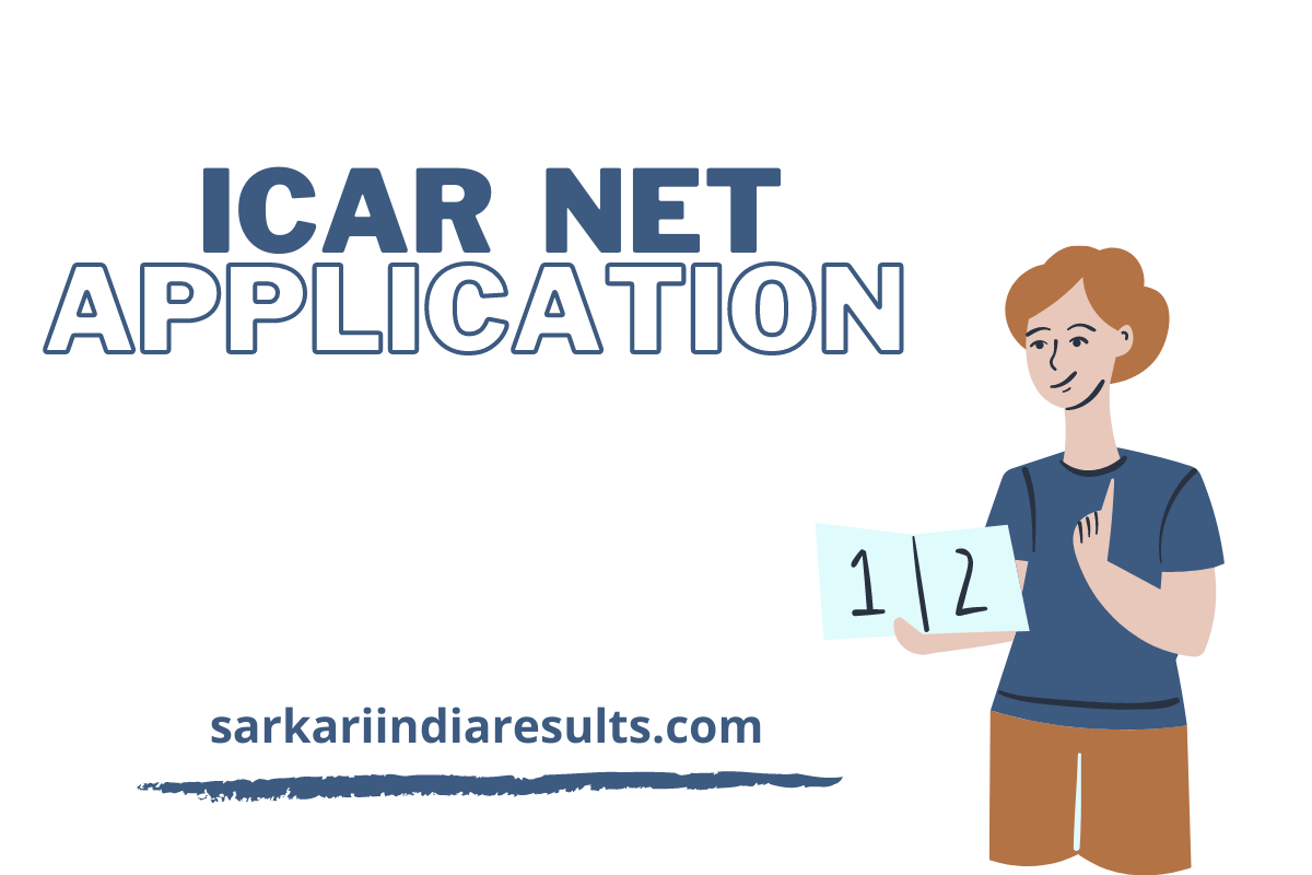 ICAR NET Application